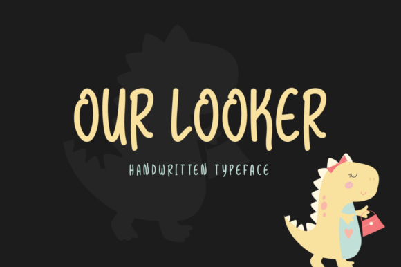 Print on Demand: Our Looker Script & Handwritten Font By Shattered Notion