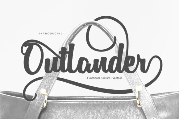 Print on Demand: Outlander Script & Handwritten Font By BonjourType