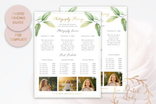 Download Free Psd Photography Pricing Guide Template Graphic By for Cricut Explore, Silhouette and other cutting machines.
