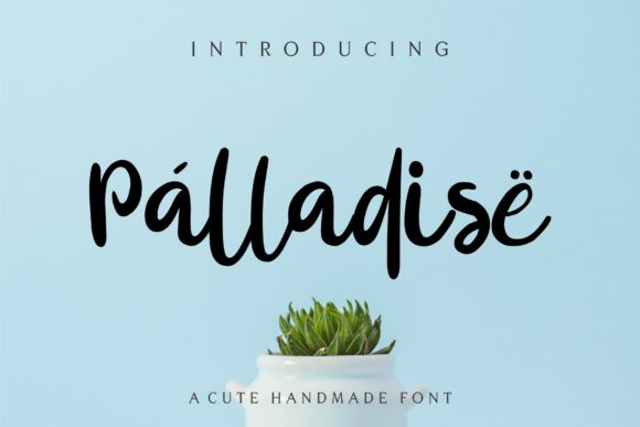 Print on Demand: Palladise Script & Handwritten Font By MJB Letters - Image 1