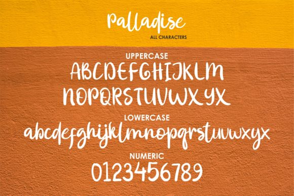 Print on Demand: Palladise Script & Handwritten Font By MJB Letters - Image 8