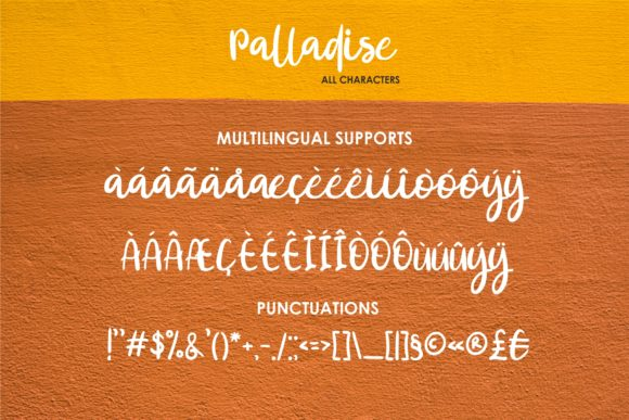 Print on Demand: Palladise Script & Handwritten Font By MJB Letters - Image 9