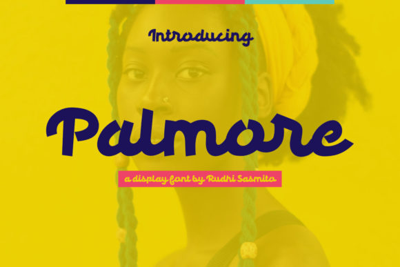 Palmore Display Font By rudhisasmito