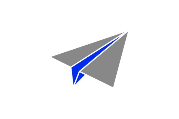 Print on Demand: Paper Plane Graphic Icons By khld939