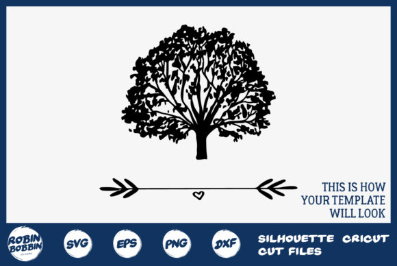 Personalized Family Tree Graphic By Robinbobbindesign Creative
