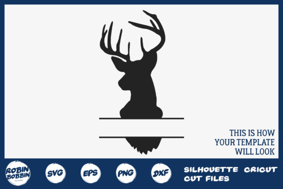 Download Free Personalized Home Poster With Deer Graphic By Robinbobbindesign for Cricut Explore, Silhouette and other cutting machines.