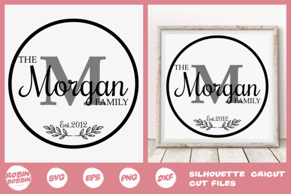 Print on Demand: Personalized Newlyweds Poster Graphic Crafts By RobinBobbinDesign