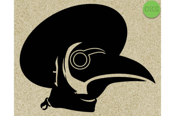 Download Free Plague Doctor Mask Svg Graphic By Crafteroks Creative Fabrica for Cricut Explore, Silhouette and other cutting machines.