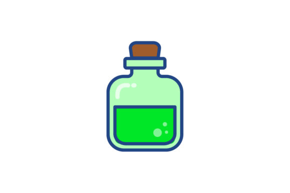 Download Free Potions Icon Graphic By Kanggraphic Creative Fabrica SVG Cut Files