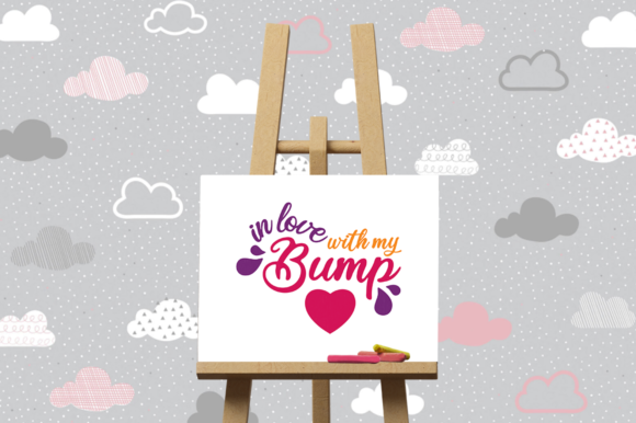 Download Free Pregnancy Announcement Svg Graphic By Duka Creative Fabrica for Cricut Explore, Silhouette and other cutting machines.