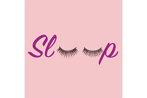 Pretty Lashes Graphic By Sasha_Brazhnik