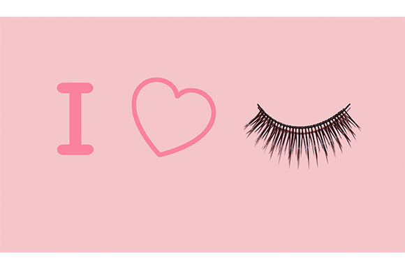 Pretty Lashes Graphic Beauty & Fashion By Sasha_Brazhnik