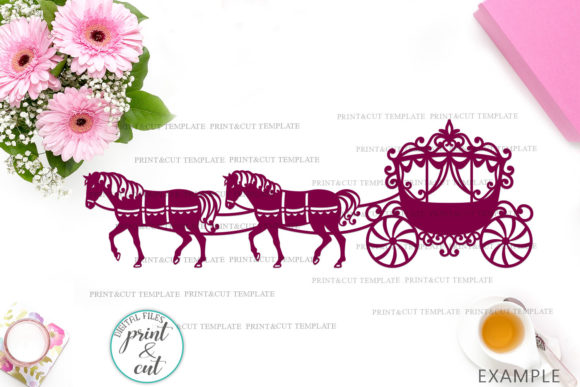 Download Free Princess Carriage Svg Graphic By Cornelia Creative Fabrica SVG Cut Files