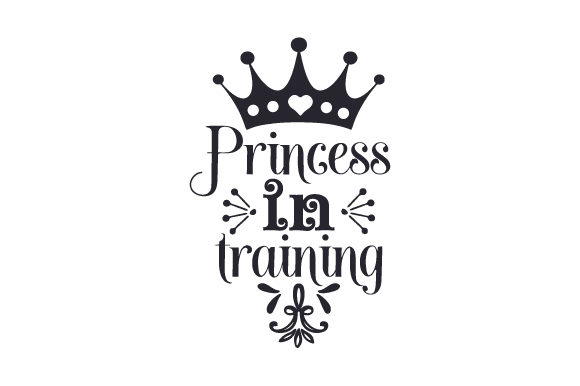 Princess in Training Baby Craft Cut File By Creative Fabrica Crafts - Image 2