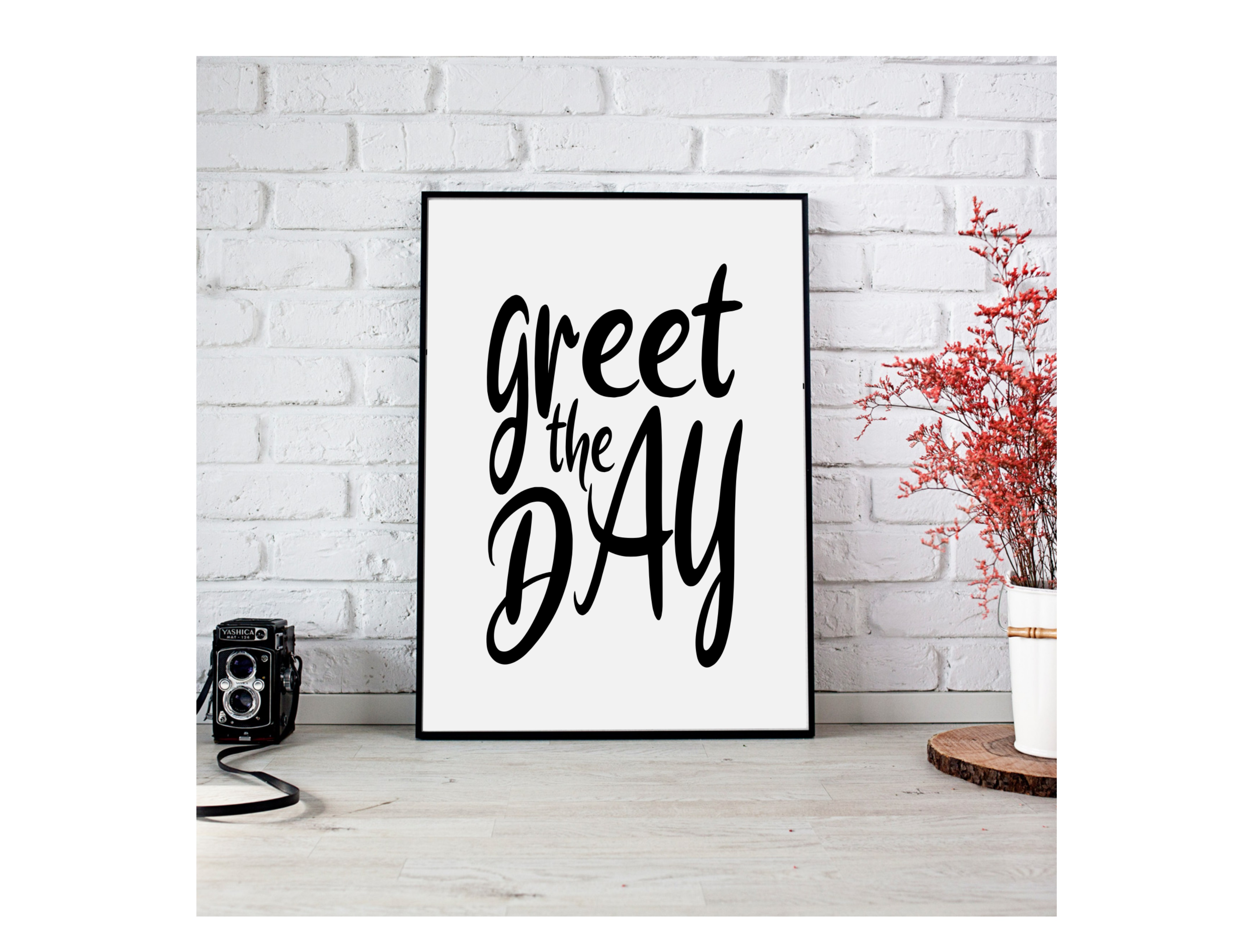 Download Free Printable Wall Art For Home Office Decoration Graphic By for Cricut Explore, Silhouette and other cutting machines.