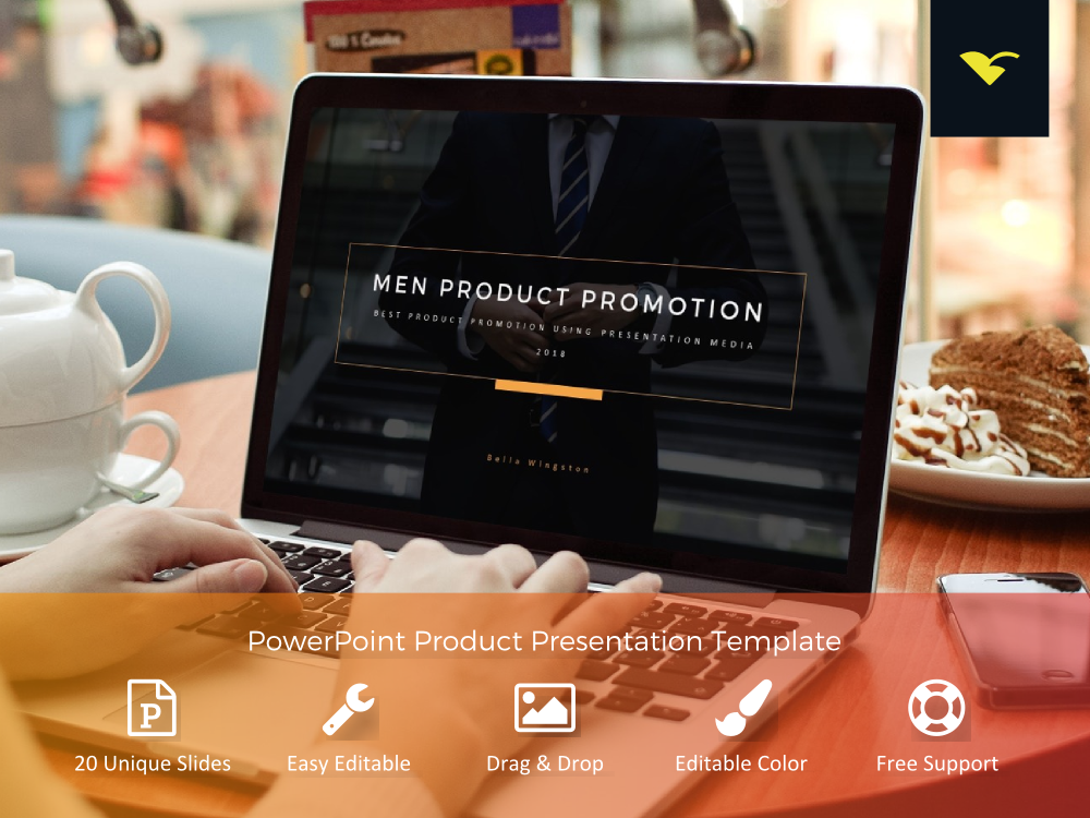 Download Free Product Promotion Presentation Powerpoint Templates Grafico Por for Cricut Explore, Silhouette and other cutting machines.