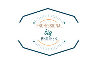 Download Free Professional Big Brother Quote Svg Cut Graphic By Thelucky for Cricut Explore, Silhouette and other cutting machines.