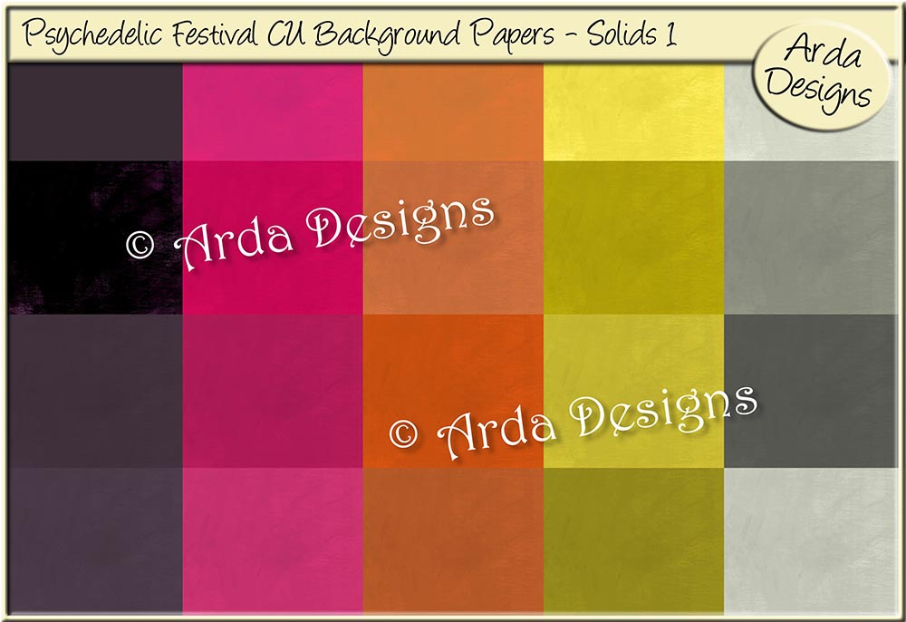 Download Free Psychedelic Festival Cu Papers Solids 1 Graphic By Arda for Cricut Explore, Silhouette and other cutting machines.
