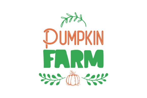 Print on Demand: Pumpkin Farm Graphic Crafts By TheLucky
