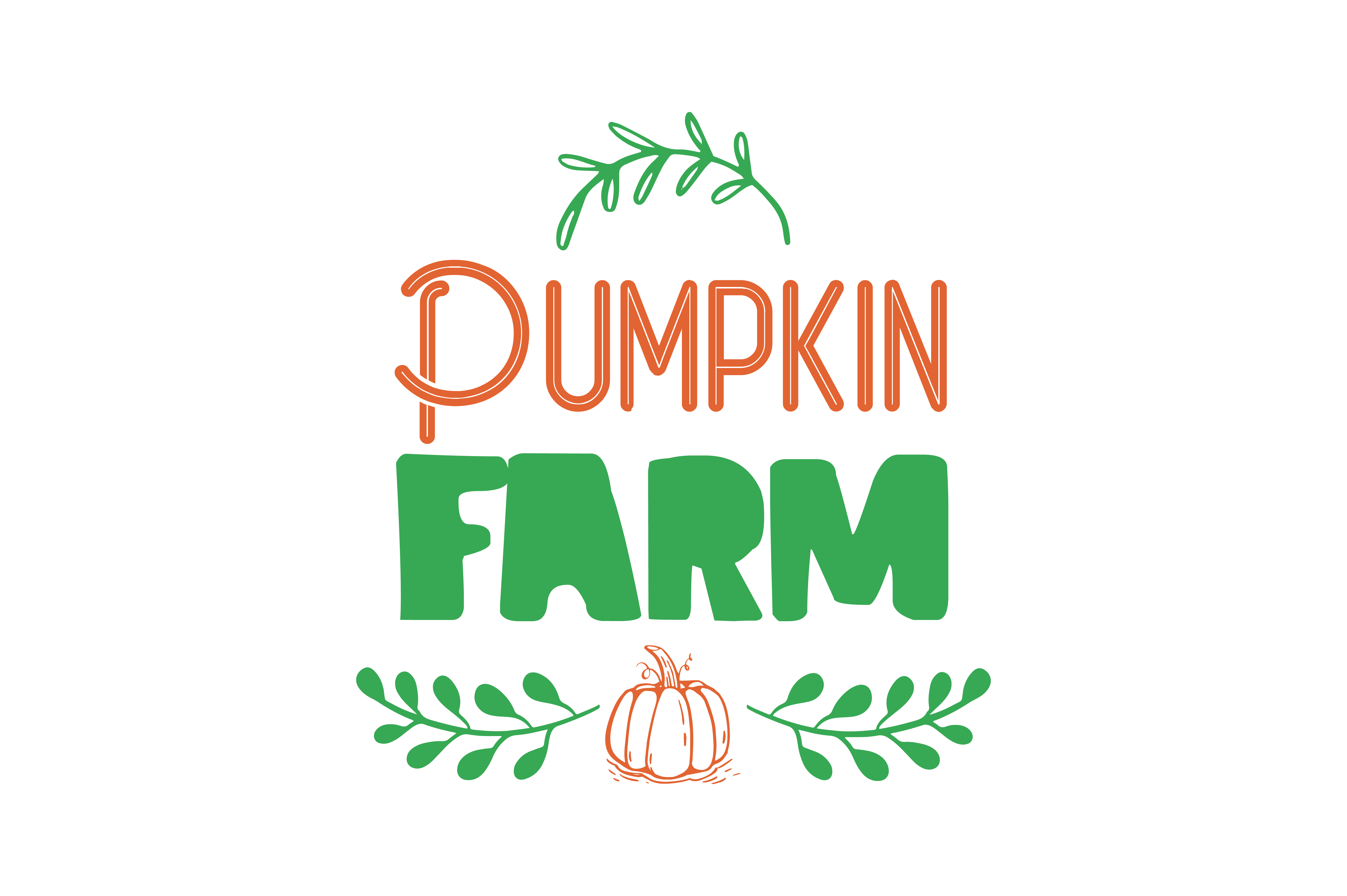 Download Free Pumpkin Farm Quote Svg Cut Graphic By Thelucky Creative Fabrica for Cricut Explore, Silhouette and other cutting machines.