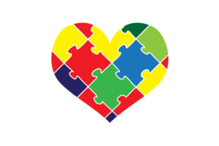 Puzzle Heart Craft Design By Creative Fabrica Crafts