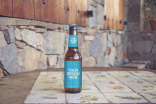 Print on Demand: Pyrenees Home   Beer Mockup Graphic Product Mockups By SmartDesigns