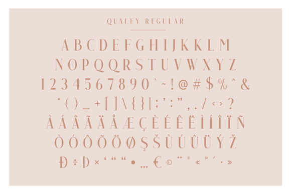 Print on Demand: Qualey Serif Font By craftsupplyco - Image 8