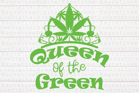 Download Free Queen Of The Green Svg Graphic By Kayla Griffin Creative Fabrica for Cricut Explore, Silhouette and other cutting machines.