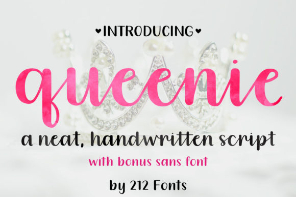 Queenie Font By 212 Fonts Image 1