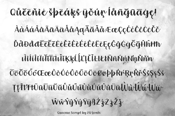 Queenie Font By 212 Fonts Image 8