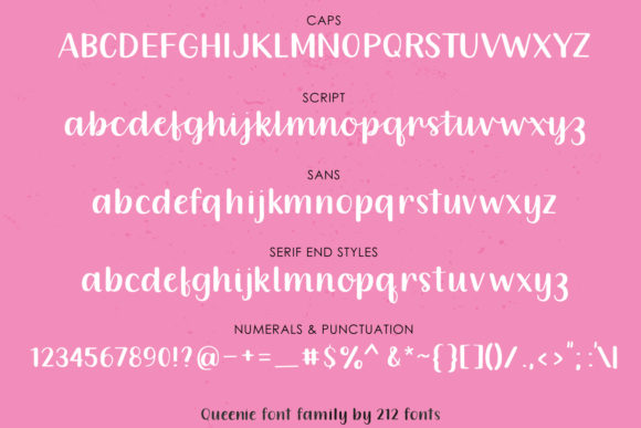Queenie Font By 212 Fonts Image 9
