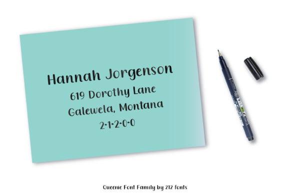 Queenie Serif Font By 212 Fonts Image 3