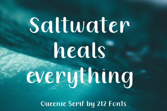 Queenie Serif Font By 212 Fonts Image 4