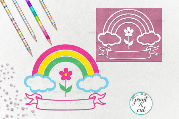 Download Free Rainbow Graphic By Cornelia Creative Fabrica for Cricut Explore, Silhouette and other cutting machines.