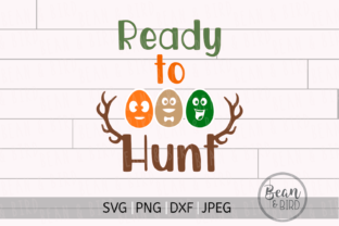 Ready to Hunt Easter Graphic By Jessica Maike