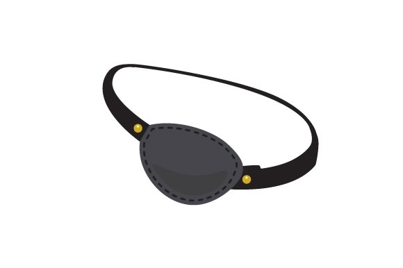 Download Free Realistic Eye Patch Svg Cut File By Creative Fabrica Crafts for Cricut Explore, Silhouette and other cutting machines.