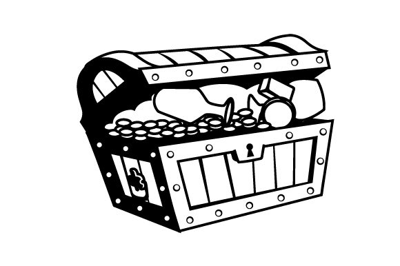 Download Free Realistic Treasure Chest Svg Cut File By Creative Fabrica Crafts for Cricut Explore, Silhouette and other cutting machines.