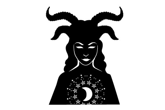 Download Free Realistic Witch Face Silhouette Svg Plotterdatei Von Creative for Cricut Explore, Silhouette and other cutting machines.