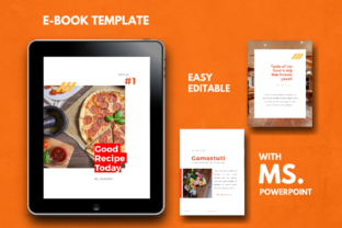 Download Free Recipe Ebook Powerpoint Template Grafik Von Rivatxfz Creative for Cricut Explore, Silhouette and other cutting machines.