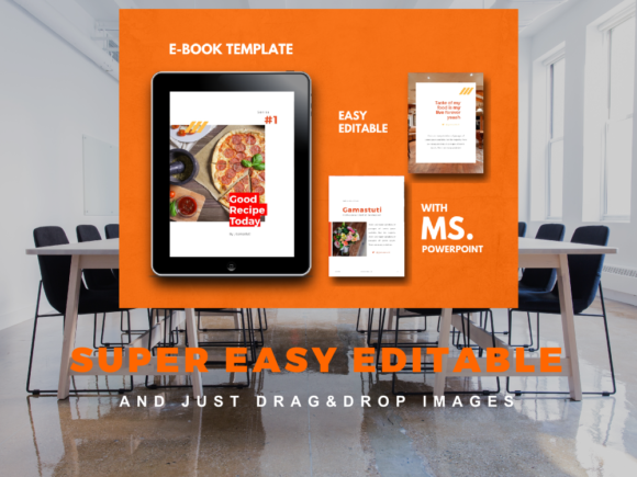 Recipe Ebook Powerpoint Template Graphic By rivatxfz Image 8