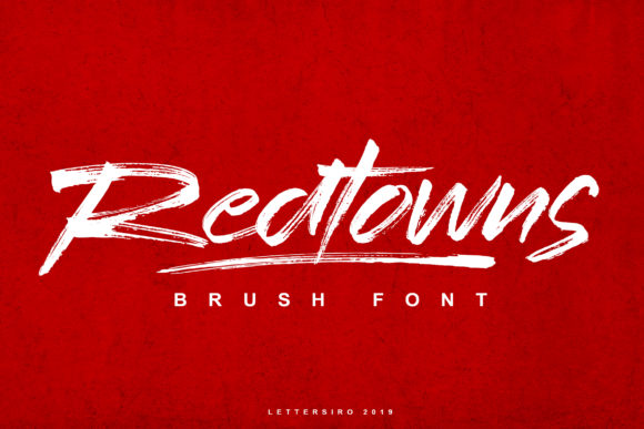 Print on Demand: Redtowns Script & Handwritten Font By Lettersiro Co.