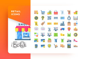 Retail Icon Packs Graphic By Goodware.Std