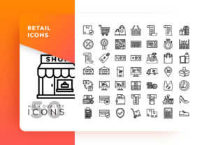 Retail Icons Packs Graphic By Goodware.Std