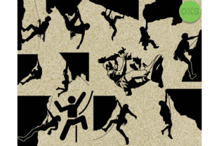 Download Free Rock Climbing Graphic By Crafteroks Creative Fabrica for Cricut Explore, Silhouette and other cutting machines.