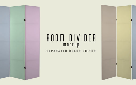 Room Divider Mockup Graphic Product Mockups By LetterStock X Gumacreative - Image 2