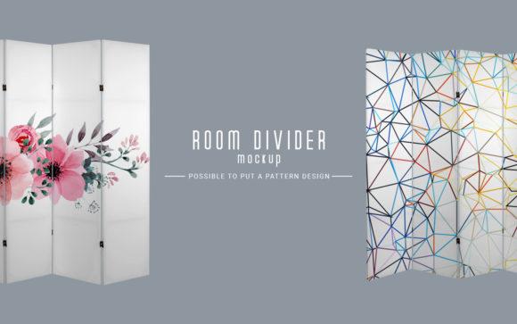 Room Divider Mockup Graphic Product Mockups By LetterStock X Gumacreative - Image 3
