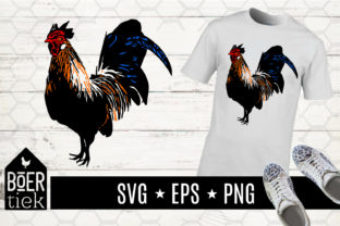 Download Free Rooster Color Art Svg Cutting File Graphic By Boertiek for Cricut Explore, Silhouette and other cutting machines.