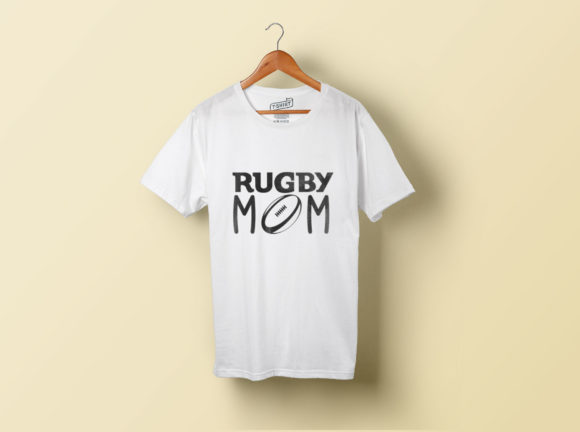 Download Free Rugby Ball Graphic By The Crafty Skater Creative Fabrica for Cricut Explore, Silhouette and other cutting machines.