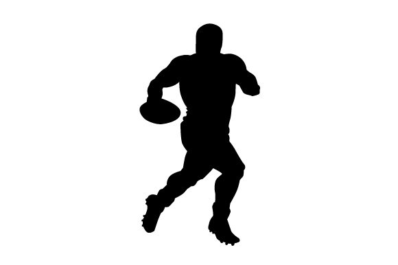 Download Free Rugby Player Svg Cut File By Creative Fabrica Crafts Creative for Cricut Explore, Silhouette and other cutting machines.