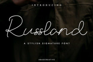 Russland Font By Abascreative